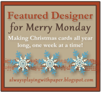 Merry Monday Featured Designer Badge