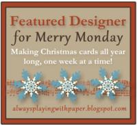 Merry Monday Featured Designer Badge